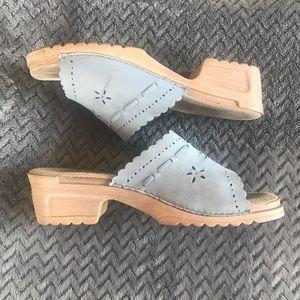 White Mountain sandals. GUC size 10